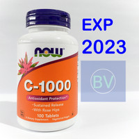 Now Foods Vitamin C 1000 mg isi 100 Tablets Now Food Vit C