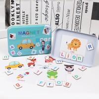 TweedyToys - Magnet Recognize Words Kaleng