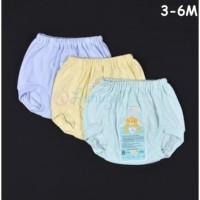 LIBBY 1 Pcs Celana Pop Bayi Warna (3-6M) / Bawahan Baju Bayi Newborn