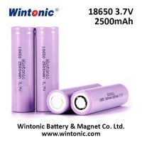 Best Value: Wintonic 18650 Li-Ion Battery 3.7V/2500mAh Asli - Flat Top