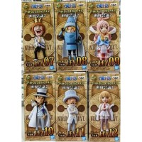 One Piece WCF LEVELY Reverie Bandai Action Figure WCF LEV 2 Set of 6