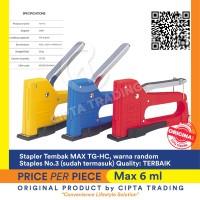 Stapler - MAX - Gun Tacker TG-HC ( stapler tembak )