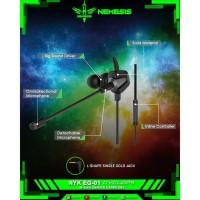 Earphone Gaming NYK EG-01 Cyclops