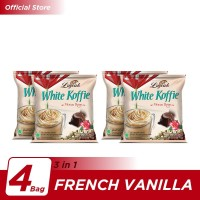 Kopi Luwak White Koffie Mocca Rose Bag 5x20gr - 4 Pcs
