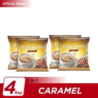 Kopi Luwak White Koffie Caramel Bag 5x20gr - 4 Pcs