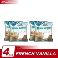 Kopi Luwak White Koffie French Vanilla Bag 5x20gr - 4 Pcs