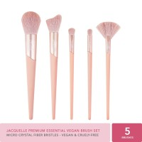 Jacquelle Premium Essential Vegan Brush set