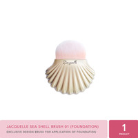 Jacquelle Beauty Brush - Sea Shell 01 (Foundation)