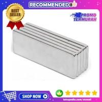 Magnet Neodymium N35 Super Kuat Kotak Persegi Panjang 30x10x2mm 1PCS