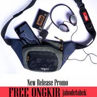 Tas pinggang Pria Anti Air Gearbag Terbaru - Waist Bag Laki laki 13120
