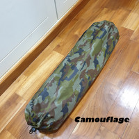 Sleeping Mattress Self-Inflating Pad Portable Bed with Pillow Camping - camouflage