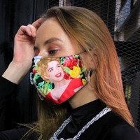 2Madison Premium Marilyn Tropical Facemask With Air Valve