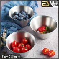 ES Gelas Dessert Stainless Steel 304 Mangkok Dessert Peralatan Makan