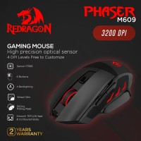 Redragon Gaming Mouse PHASER - M609
