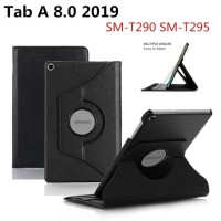 Samsung Tab A 8 8.0 A8 2019 T295 Rotate Leather Flip Case Cover Casing
