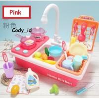 Mainan cuci piring + memasak dishwasher electric playset P41