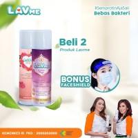 Lavme Disinfectant Anti Virus Organic 250ml - 2pcs Free Face Shield