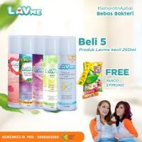 Lavme Disinfectant Anti Virus Organic 250ml - 5pcs Free Inaco Stimuno