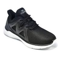 Carvil Sepatu Pria FEDERER-03 BLACK/WHITE
