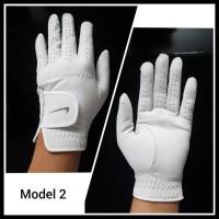 Ekslusif Golf Glove Sarung Tangan Full Kulit Nike Untuk Pria