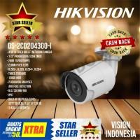 IP CAMERA HIKVISION 4MP DS-2CD2043G0-I / H.265+ EXIR series