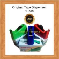 Original Tape Dispenser Besar 1 inch/Tempat Isolasi/Selotip 24mm