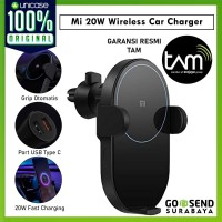 Car Holder Wireless Charger Xiaomi Mi 20W Mount Air Vent Fast Charging