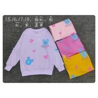 Ls Sweater Big Mickey Icon (MIX MOTIF)