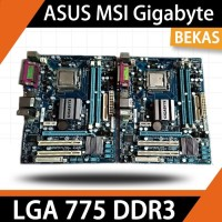 MOTHERBOARD LGA 775 DDR3 G41 ASUS MSI Gigabyte