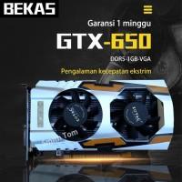 kartu vga card gtx650 1GB GTX 650 1 GB ddr5 128bit