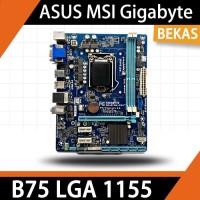 Motherboard B75 GIGABYTE ASUS MSI LGA 1155 Mainboard