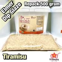 Elmer Dip Glaze Tiramisu repack 500 gram