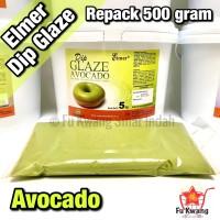 Elmer Dip Glaze Avocado repack 500 gram