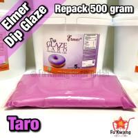 Elmer Dip Glaze Taro repack 500 gram