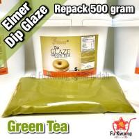 Elmer Dip Glaze Green Tea repack 500 gram