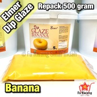 Elmer Dip Glaze Banana repack 500 gram