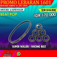 DRIVE BELT WITH SUPER ROLLER BRT BEAT POP