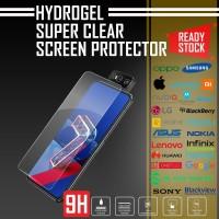HYDROGEL ANTI GORES ASUS ZENFONE 7 (ZS670KS) SUPER CLEAR QUALITY