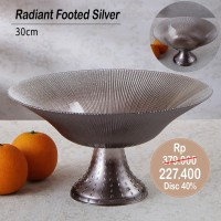 PERO RADIANT FOOTED SILVER