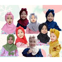Jilbab Anak Hijab Kerudung Bayi Balita Lucu Cewek Perempuan