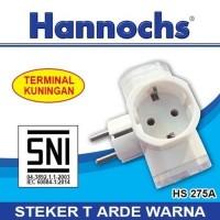 Over Steker HANNOCHS HS 275A T ARDE - Steker Colokan Cabang 3