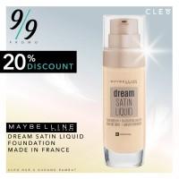Maybelline Dream Satin Liquid - Made in France - GoldenBeige