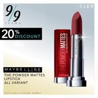 Lipstick Maybelline Powder Matte Lipstik Maybeline - 100% Original