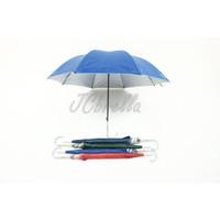 Payung Panjang Standar Otomatis Silver Promosi Colorful-052