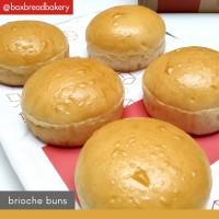 Roti Burger Bun Brioche (Pack of 5) - BoxBread Bun