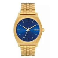 NIXON A0452735 TIME TELLER ALL GOLD BLUE SUNRAY