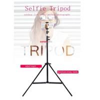 Selfie Tripod for online vlog portable plus bag