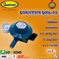 REGULATOR GAS METER QUANTUM QRL03