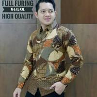 Kemeja Batik Lengan Panjang Puring 8