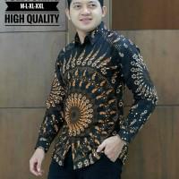 Kemeja Batik Lengan Panjang Lapis Puring 7